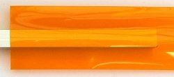 Heat shrink tube- orange/transparent - 1m