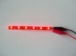 LED stripe RED (flexibel)