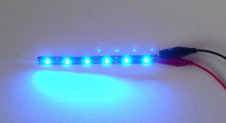 LED stripe BLUE (flexibel)