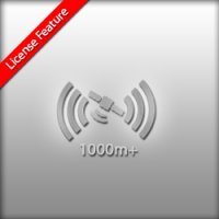 License feature GPS Range plus 1000m