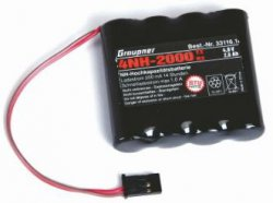 Graupner Spare-Battery JR-Transmitter 4,8V