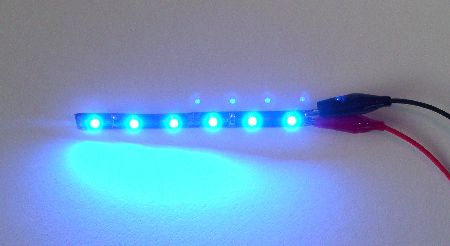 LED stripe BLUE (flexibel) - Click Image to Close